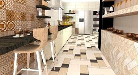 decoracion ceramica en cocinas estilo clasico