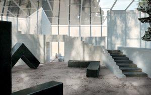 porcelanico espacios amplios