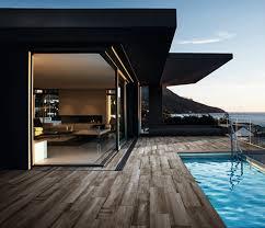 porcelánicos para piscinas diseño esterior e interior integrado