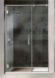 mamparas de ducha un fijo y una corredera