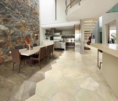 Aparici nos ofrece la colección Gstone, con la que podrás decorar tu pared con piedra