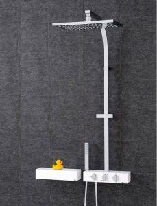 grifería termostática para ducha